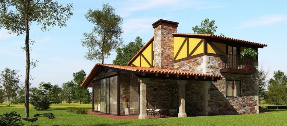 Rustika y Diseño, empresa de construcciones de casas rústicas en A ...