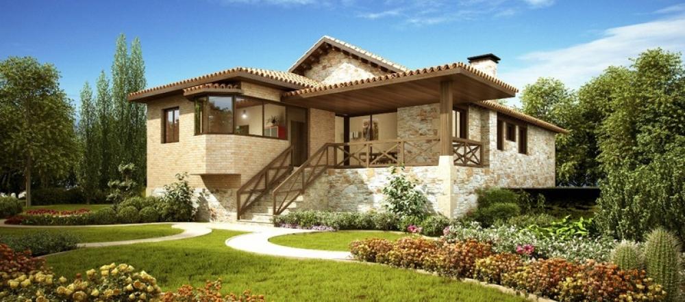 Rustika y dise o empresa de construcciones de casas - Disenos de casas rurales ...