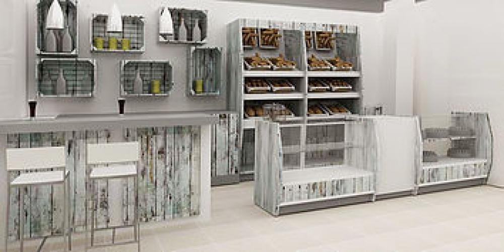 Dimensiondecora empresa de equipamiento comercial dise o for Muebles para cafeteria precios