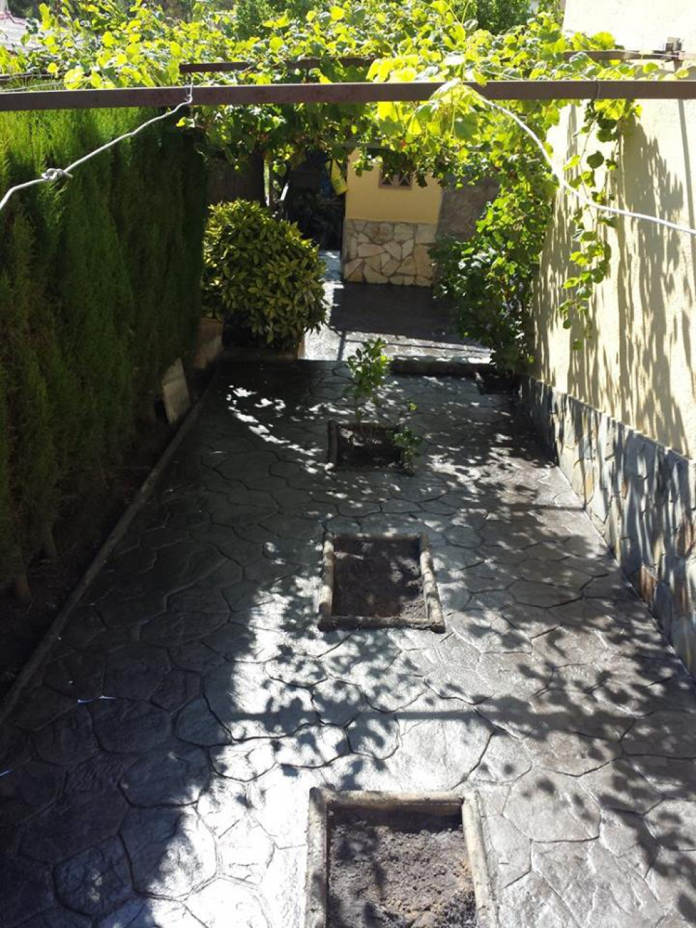 pavimentos de hormigón impreso en Cataluña y Barcelona. Fachadas ...