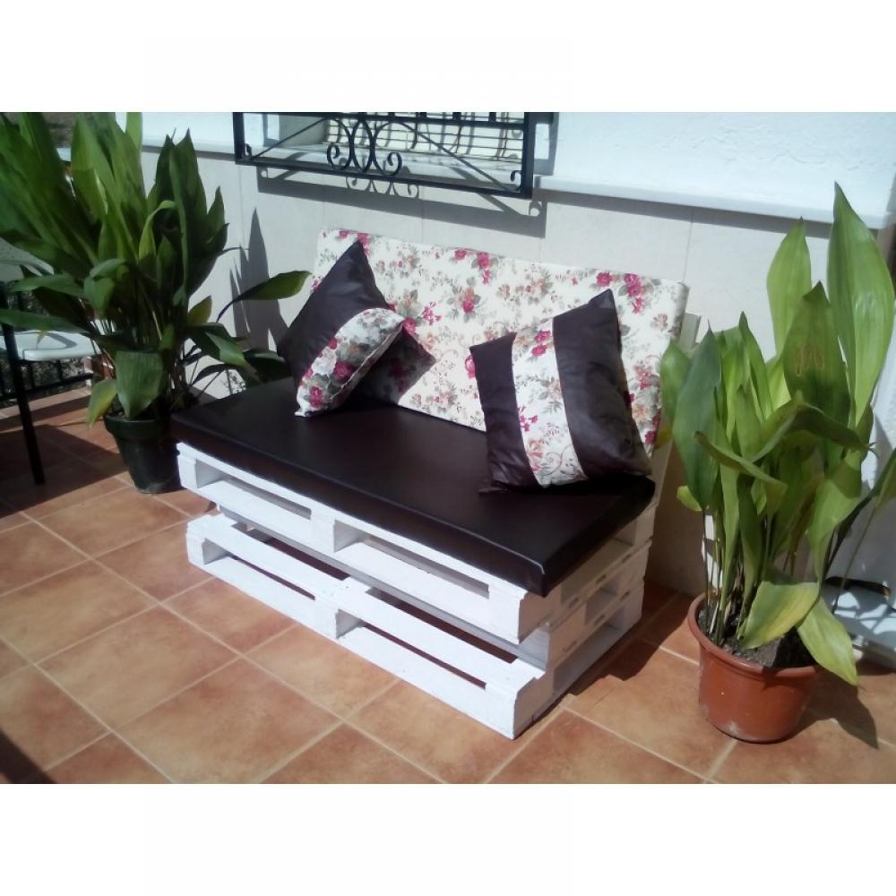 Estilopalé, mobiliario de palé en Andalucía. Chaiselonge de palet en ...
