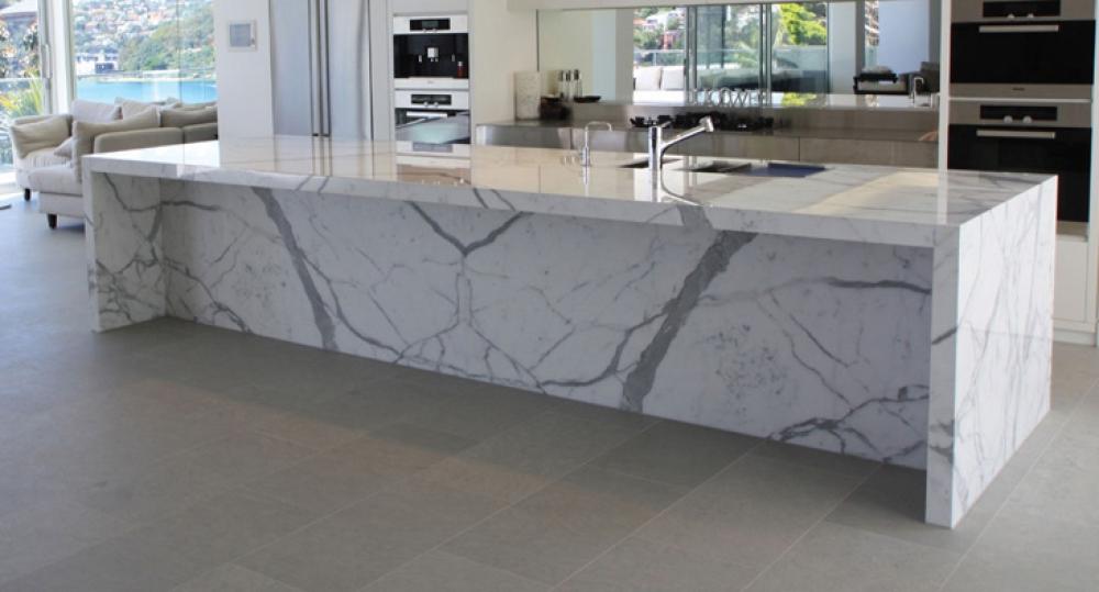 De baos y cocinas elegant cool diseos de cocinas modernas - Encimera marmol precio ...