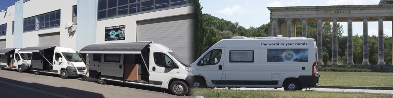 camper travel, empresa para convertir furgoneta en viviendas en