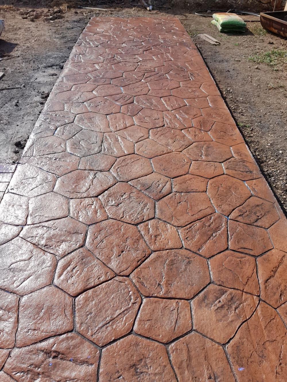Pavimentos impresos de hormigon beautiful pavimento - Hormigon impreso barato ...