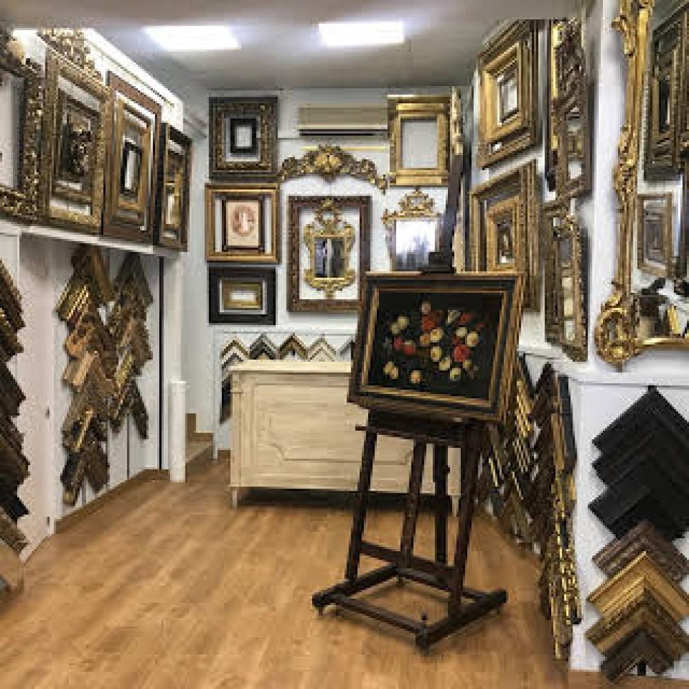 Enmarcaciones Eufemio Simón, marcos artesanos en Madrid. Fabricantes ...