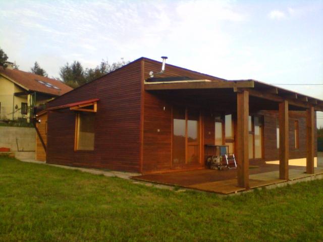 Silex construcci n de casas de madera en a coru a - Casas de madera pontevedra ...
