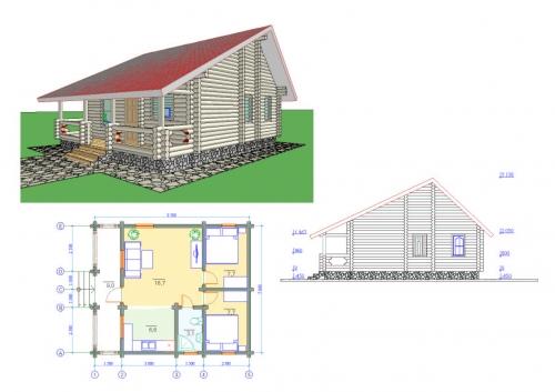 Silex construcci n de casas de madera en a coru a constructores de casas de madera presupuesto - Casas de madera pontevedra ...