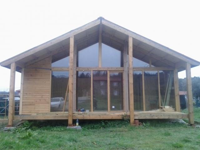 Silex construcci n de casas de madera en a coru a - Casas prefabricadas en pontevedra ...