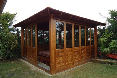 Casa natural construcciones de casas de madera en - Construcciones de casas de madera ...