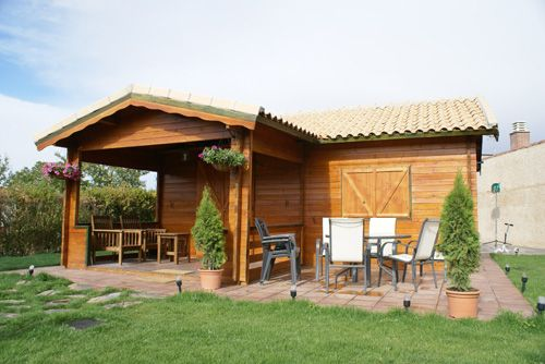 Casa natural construcciones de casas de madera en - Casas de madera natural ...