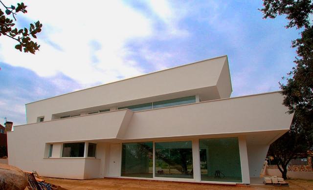 Dgd obras y proyectos construcciones de obra nueva en for Chalet majadahonda obra nueva