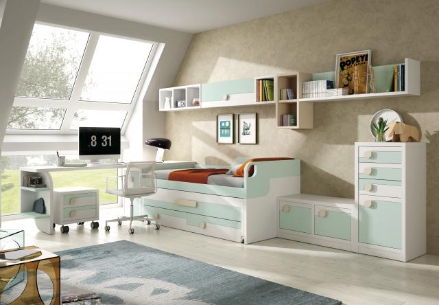 Dormitorios juveniles en madrid dormitorios juveniles - Mobiliario infantil sevilla ...
