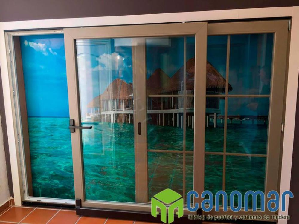 Puertas canomar tienda online de puertas de madera - Ventanas de madera madrid ...