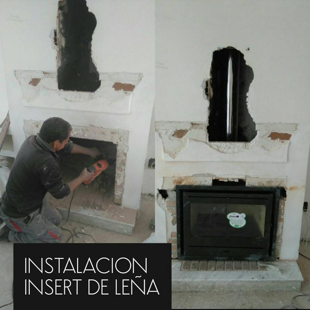 Deshollinadores sierra norte limpieza de chimeneas en - Estufas de lena en madrid ...