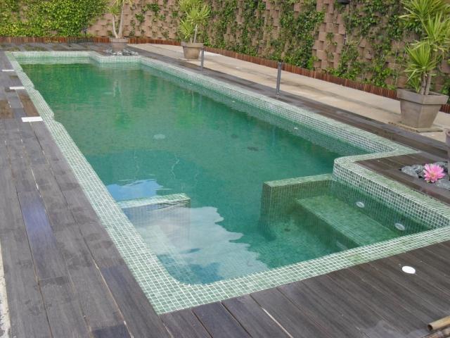 Piscina mejorada del campo trendy gresite para piscinas for Piscinas precios baratos
