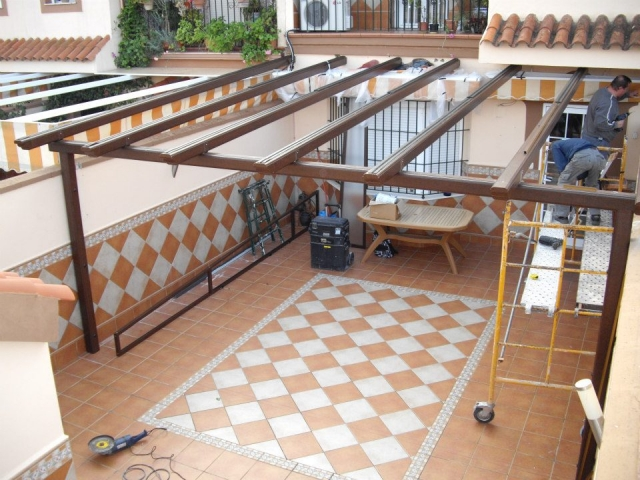 C glass empresa para instalaci n de cortinas de cristal en - Cristaleras para terrazas ...