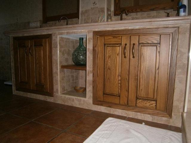 Carpinter a soportujar fabricaci n de cocinas puertas y - Puertas de cocina rusticas ...