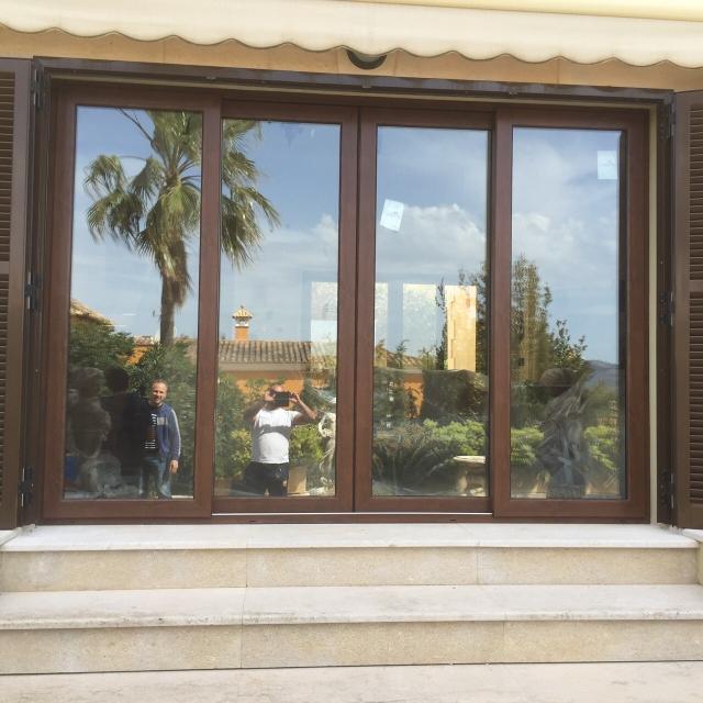 Fotos ventanas de aluminio cerramientos de alta gama - Fotos de cerramientos ...