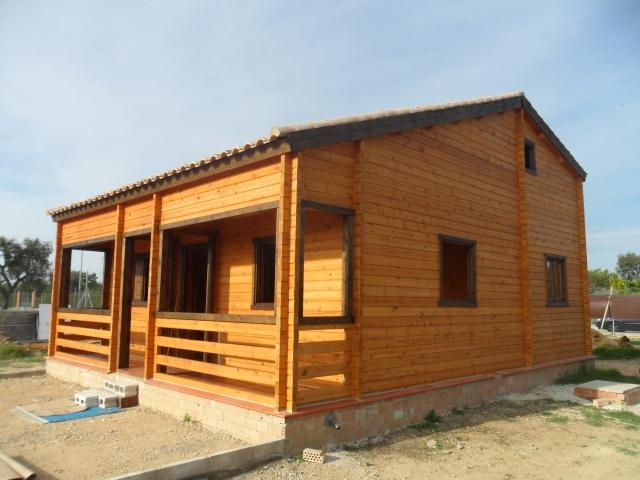 Santa clara casas de madera empresa de venta fabricaci n - Casetas prefabricadas para jardin ...