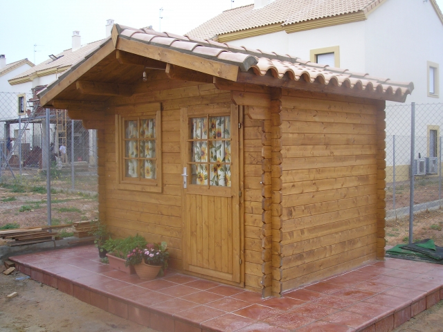 Santa clara casas de madera empresa de venta fabricaci n - Casetas de madera infantiles ...