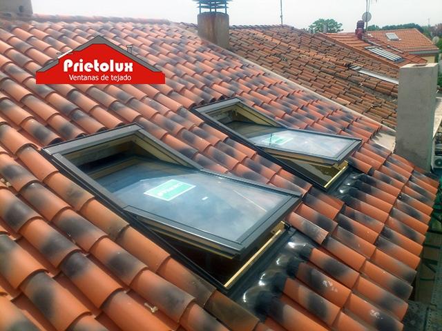 Prietolux Ventanas de tejados Velux en Madrid. Empresa para instalar ...