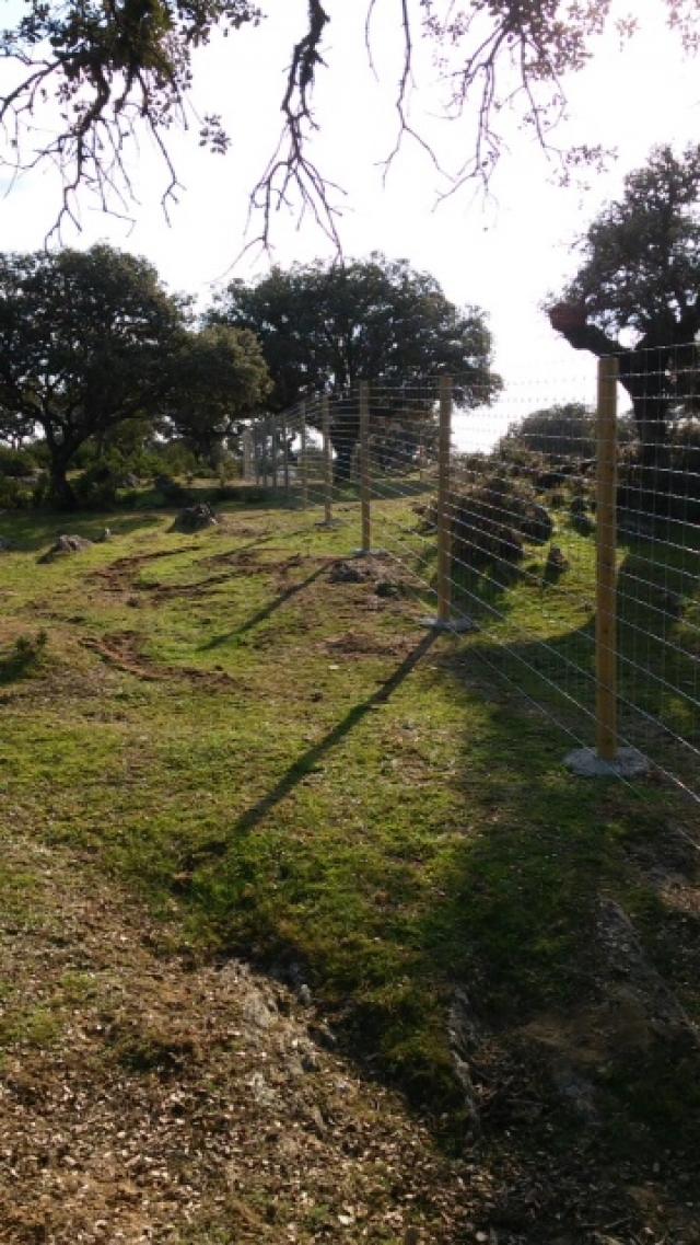 Agust n lanciano vallados y cerramientos empresa para - Vallados y jardines ...