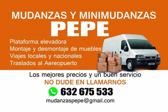Mudanzas Pepe, empresa de mudanzas económicas nacionales e ...