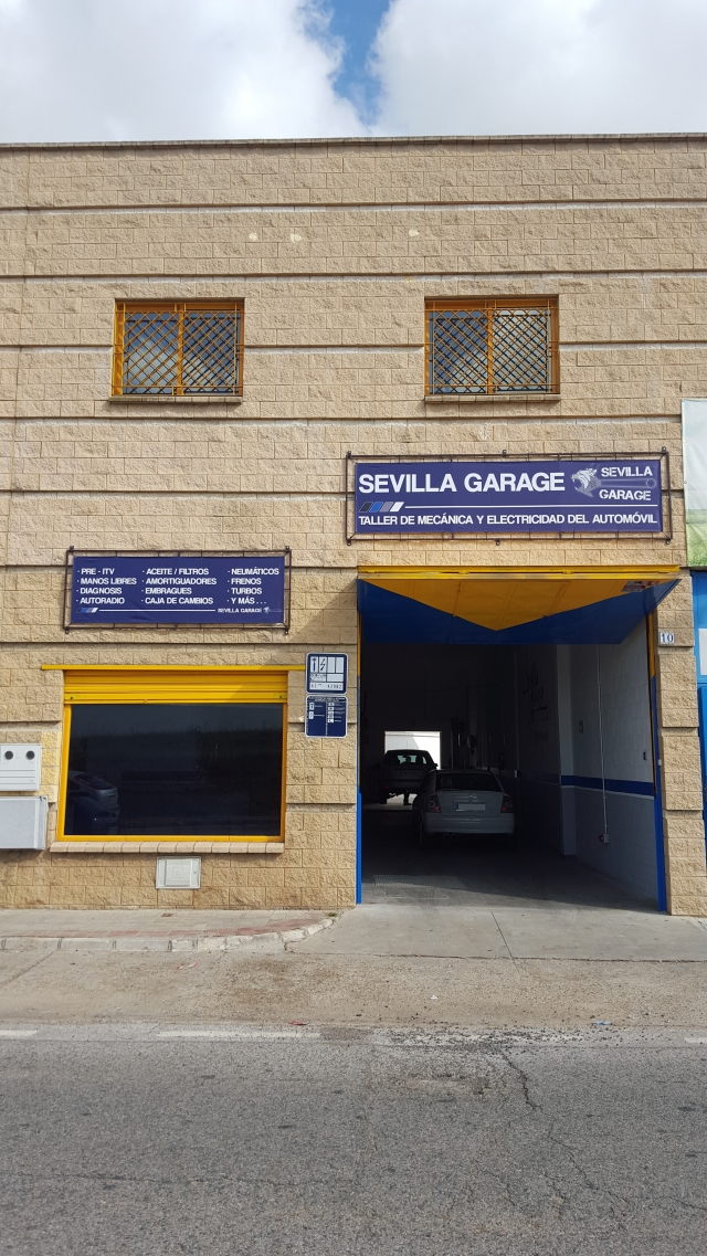 Taller sevilla garage taller mec nico de veh culos en dos for Planimetrie del garage rv