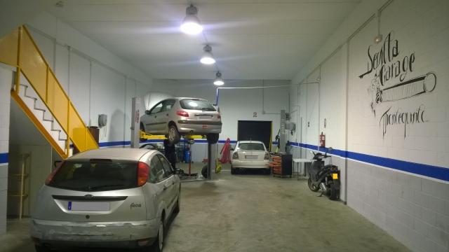 Taller sevilla garage taller mec nico de veh culos en dos for Costo del garage