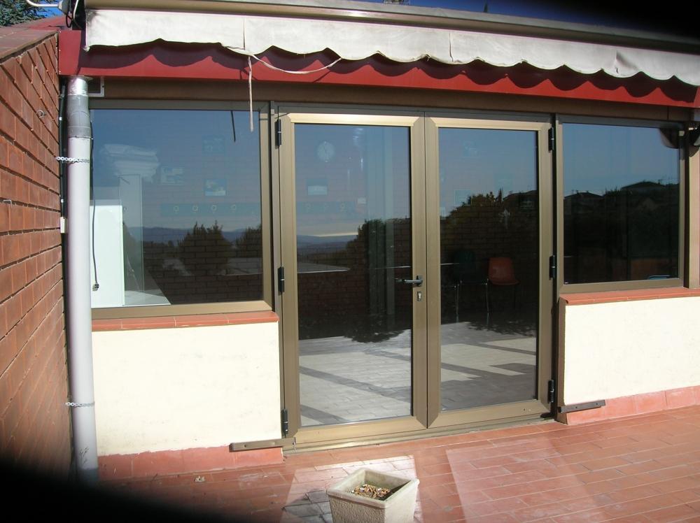 Puertas terraza aluminio puertas correderas de aluminio for Puertas para terrazas