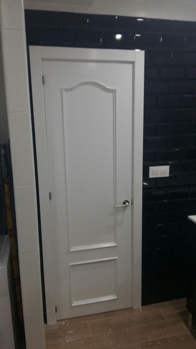 Lacar puertas en blanco precio latest pintar puertas for Cuanto cuesta lacar un mueble en blanco