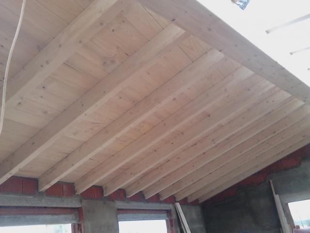 Tejados de madera amazing precio m panel de madera para for Tejados de madera con teja