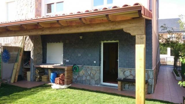 Cubiertas de pizarra y teja alex reparaci n y montaje de - Estructura tejado madera ...