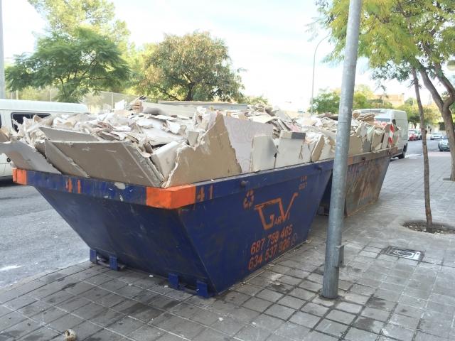 Precio contenedor escombros alicante