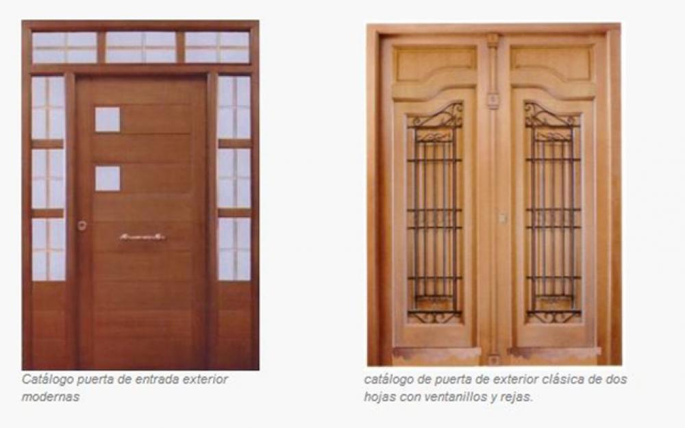 Puertas la sabina carpinteria de puertas de madera - Carpinterias de madera en madrid ...