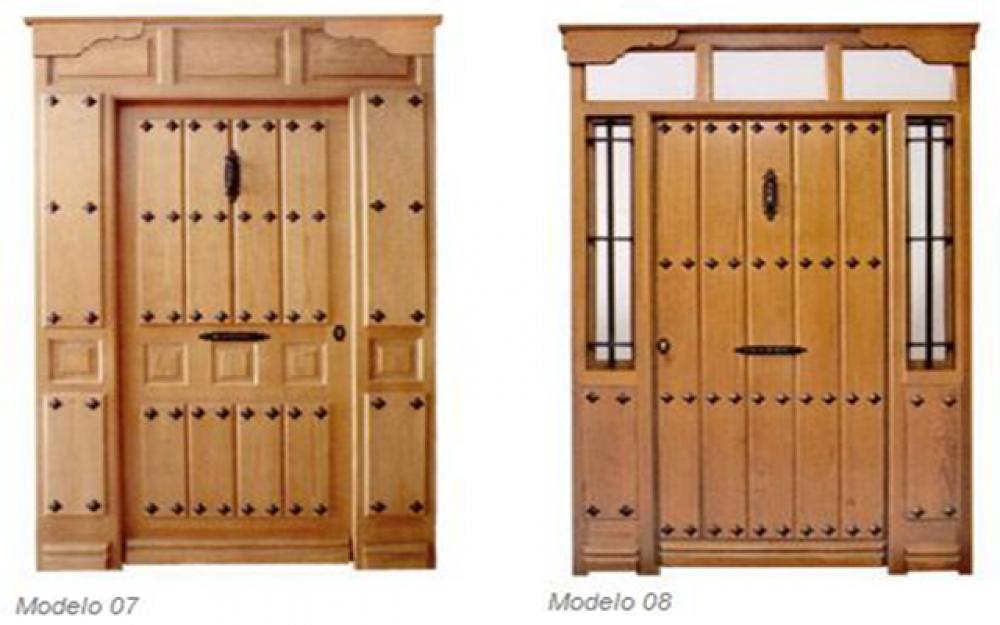 Puertas la sabina carpinteria de puertas de madera - Carpinteria leganes ...