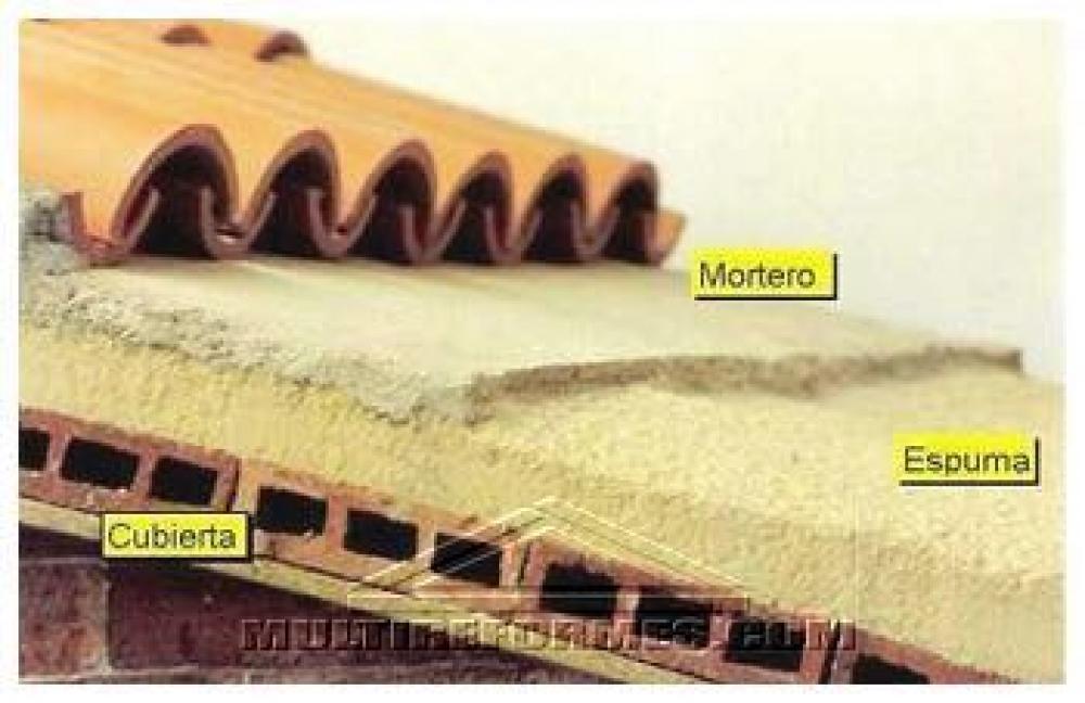 Aislamientos nevada aislamientos en granada proyectado - Precio de espuma de poliuretano ...