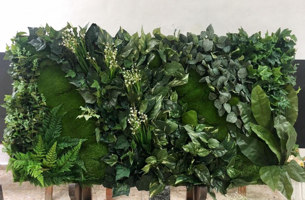 Jardines verticales de dise o jardines verticales en la for Jardines artificiales
