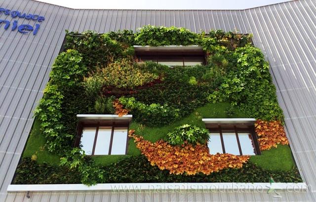 Jardines verticales de dise o jardines verticales en la - Jardineria en valencia ...