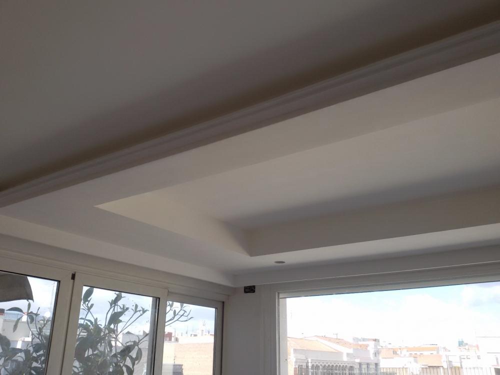 Jes s turegano empresa de pladur y escayola en colmenar - Molduras para techos interiores ...