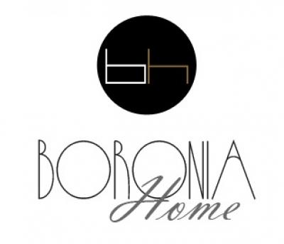 Boronia home tienda de muebles de sal n y dormitorio y for Decoracion de interiores logo