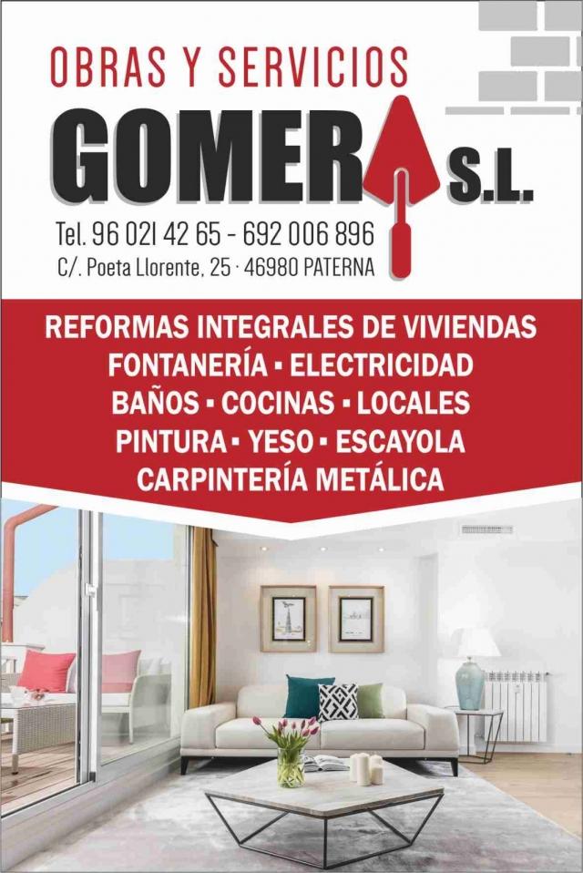 Obras y Servicios Gomera, empresa de reformas generales en Paterna ...