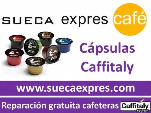 SUECA EXPRES CAFE Distribución de cápsulas para cafeteras Caffitaly system - Alimentación