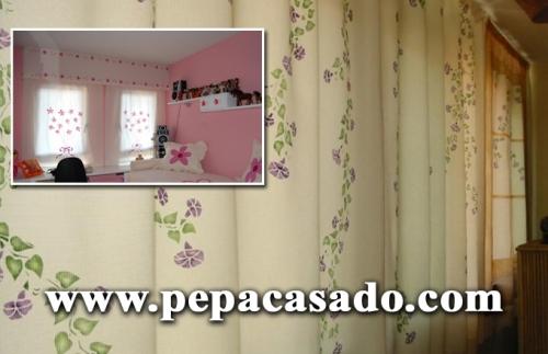 Cortinas De Baño Artesanales:PEPA CASADO Confeccion de cortinas personalizadas en Madrid, Madrid