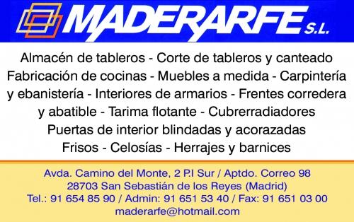 Carpinteria De Madera A Medida En San Sebastian De Los Reyes