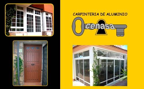 Cenasa carpinter a de aluminio fabrica e instalaci n de for Fabrica de puertas de aluminio