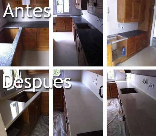 Josmart empresa de microcementos en valencia capital - Microcemento para cocinas ...