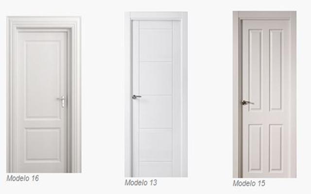 Puertas la sabina carpinteria de puertas de madera for Puertas lacadas blancas baratas