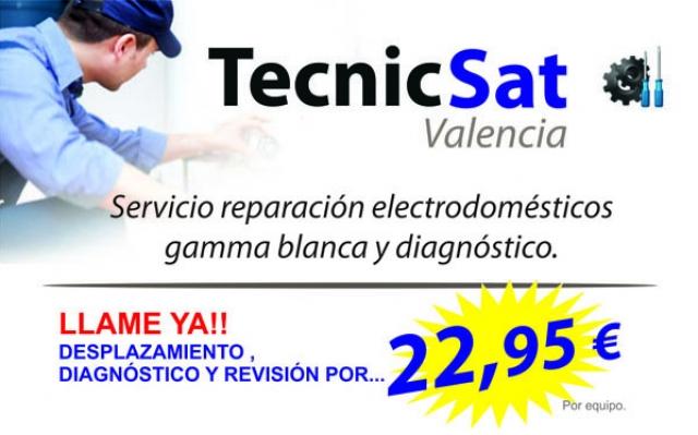 Tecnicsat empresa de reparaci n de electrodom sticos en - Reparacion de electrodomesticos en valencia ...
