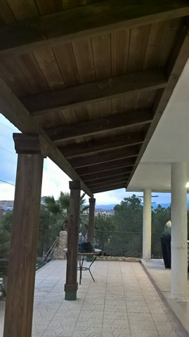 Construir Pergola De Madera. Interesting Interesting Great With ...